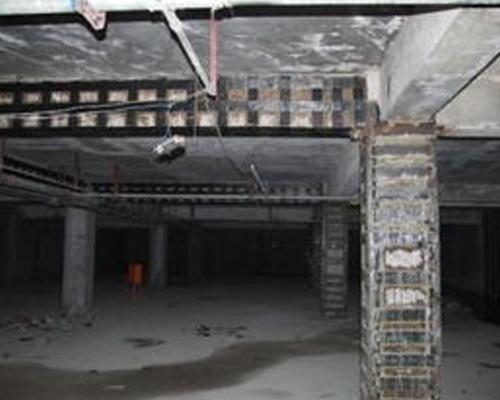 地下室车库改造加固