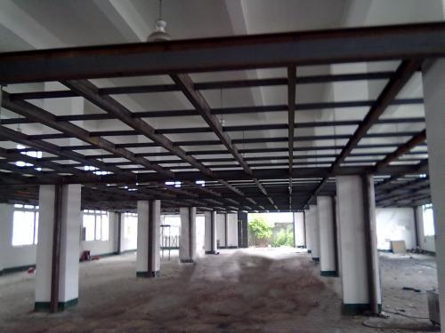 钢结构夹层封板加固