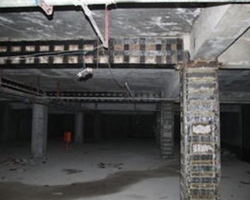 北京地下室车库改造加固